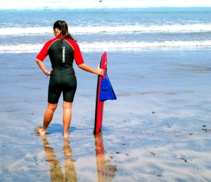 LANZA SURFER and board
