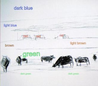 cowscolourwords